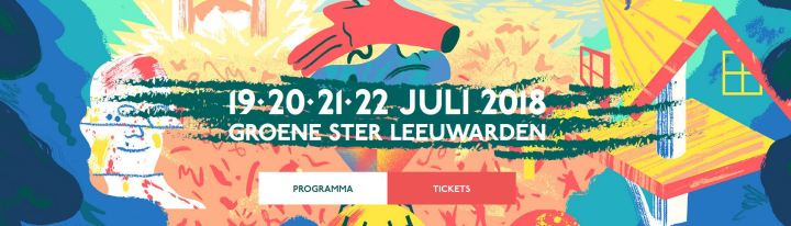 Welcome to the village Leeuwarden juli 2018